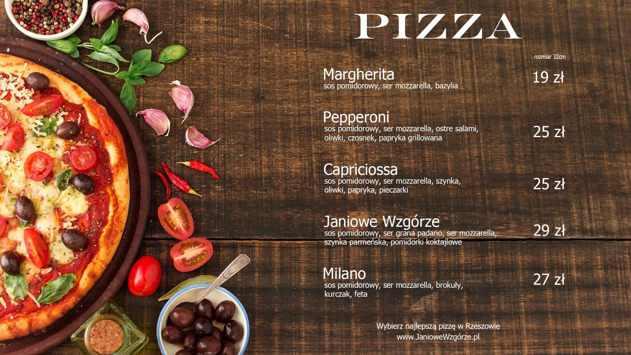 pizza janiowe wzgorze